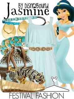 festival fashion   Disney Bound
