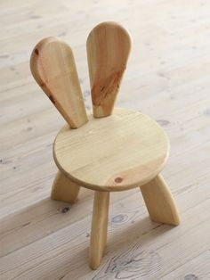 How sweet is this kid-sized rabbit chair? Available in an array of colours it would bring a playful touch to a playroom