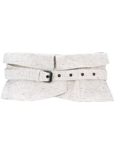 ISABEL MARANT wide waist belt. #isabelmarant #belt