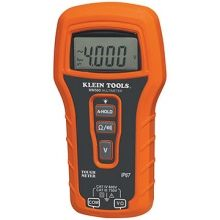 #KleinTools MM500 Auto Ranging #Multimeter –measures AC/DC voltage, resistance and continuity. The meter's durability handles even the roughest of jobsite environments. The MM500 is the #tough meter for your tough jobs.
