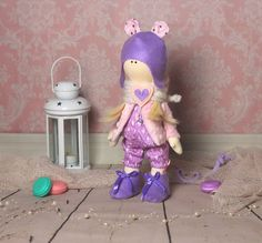 Art doll Stefania  OOAK  home decor toy by MiracleInspiration