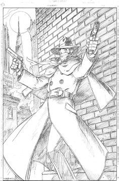 Val Semeiks - The Shadow Commission Comic Art