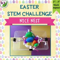 Nice Nest is a STEM / STEAM resource perfect for a spring or Easter activity.The basic premise: Individually or in partners/groups, students will design and build a nest that holds as many eggs as possible using predominantly toilet paper. Multiple iterations are recommended to get the most student benefit, but this can also be treated as a one-off activity. ~~~~~~~~~~~~~~~~~~~~~~~~~~~~~~~~~~~~~~~~~~~~~~~~~~~This is one of five challenges available for a 33% discount in the Easter STEM Des... Stem Steam, Stem Challenges, Easter Activities, Toilet Paper, Benefit, Nest, Hold On, Students, Eggs