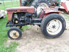 Yanmar YM1600 tractor salvaged for used parts. This unit is available at All States Ag Parts in Black Creek, WI. Call 877-530-2010 parts. Unit ID#: EQ-24335. The photo depicts the equipment in the condition it arrived at our salvage yard. Parts shown may or may not still be available. http://www.TractorPartsASAP.com