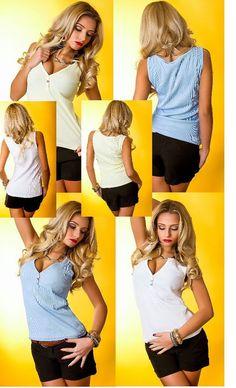 Sexy Damen Trägertop,Tanktop,Top Basic Freizeitshirt,T-Shirt,3 Farben,36-46