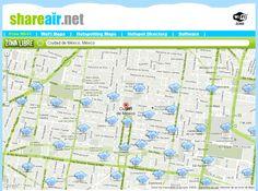 ONE: Shareair, localiza los puntos de acceso WiFi gratuitos más cercanos a tu ubicación
