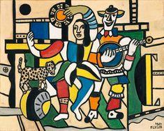 Fernand Léger - Le chien sur la boule - 1953