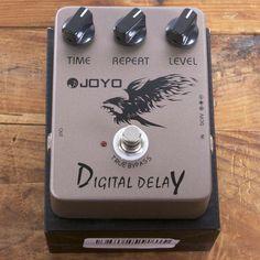 Joyo Digital Delay   Available at Garrett Park Guitars   www.gpguitars.com
