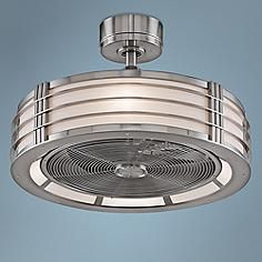 """23"""" Fanimation Beckwith Brushed Nickel Ceiling Fan"""