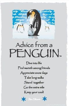 Spirit animal totem advice from a penguin. Penguin Party, Penguin Love, Cute Penguins, Penguin Quotes, Animal Spirit Guides, Marca Personal, My Funny Valentine, Animal Totems, Good Advice