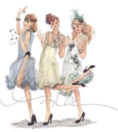 Inslee Haynes Fashion Illustration
