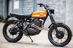 "690 Likes, 11 Comments - M E G A D E L U X E (@megadeluxe) on Instagram: ""'Zandslee' Honda XL500. Vis Garage Project Motorcycles. #honda #motorcycle #scrambler #motorsports…"""