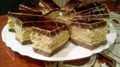 undefined Hungarian Cookies, Hungarian Desserts, Ombre Cake, Tiramisu, Oreo, Cheesecake, Ethnic Recipes, Food, Traditional
