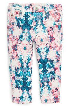 Hudson Kids Floral Print Skinny Jeans (Baby Girls) | Nordstrom