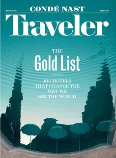 Notice anything different? After 27 years, Conde Nast Traveler has a new logo — and it's not something we took lightly. Read more about it in our January 2015 issue!