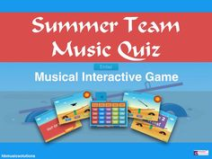 An interactive music quiz for two teams. 5 categories of music questions, which can be used on tablet or computer. Music Lessons, Teaching Resources, Student, This Or That Questions, Learning, Digital, Distance, Summer, Music Education