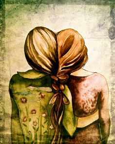 The Sisters art print (artist: Claudia Tremblay) Claudia Tremblay, Sibling Gifts, Sisters Art, Soul Sisters, Three Sisters, Large Art Prints, Sisters In Christ, My Sister, Sister Friends
