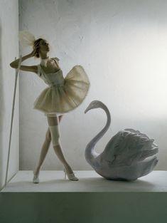 Olga Shearer photographed by Tim Walker in 2007