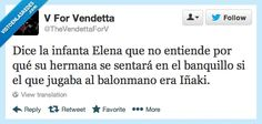 Declaraciones de Elenita, la hermanita Por @TheVendettaForV
