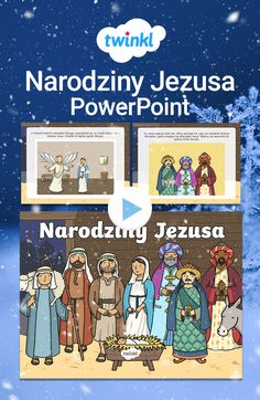 Wprowadź do klasy nieco Świątecznej atmosfery! Prezentacja o narodzinach Jezusa jest idealna na okres poprzedzający Święta. W bardzo prosty sposób przybliży dzieciom klasyczną historię Bożego Narodzenia, przypominając im, co zapoczątkowało tradycję obchodzenia Świąt. Kliknij, by odkryć dziesiątki Świątecznych materiałów! #bożenarodzenie #prezentacja #powerpoint #boże #narodzenie #betlejem #narodzinyjezusa #jezus #gwiazdabetlejemska #wigilia #szopka #bożonarodzeniowa #święta #świąteczna… Diy, Bricolage, Do It Yourself, Homemade, Diys, Crafting