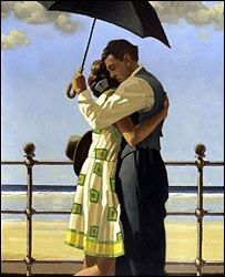 Jack Vettriano - Embracing