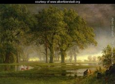 Learn more about Sunglow Albert Bierstadt - oil artwork, painted by one of the most celebrated masters in the history of art. Art Paintings For Sale, Paintings I Love, Nature Paintings, Oil Paintings, Landscape Art, Landscape Paintings, Landscapes, Albert Bierstadt Paintings, River Painting
