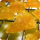 Best Candied Orange Peel Or Candied Pineapple Recipe on Pinterest