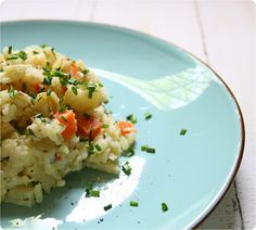 Meerrettich-Gemüse-Risotto (Apple & Horseradish) #vegetarian