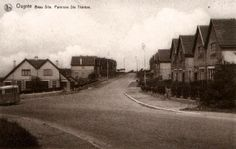 Rue de la Rose et droite   Avenue du Beau Site