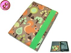 eBook+Reader+Hülle+Eichhörnchen,+Maßanfertigung+von+artistalista+-+textile+Kostbarkeiten+auf+DaWanda.com