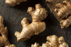 Buy Raw Organic Ginger Root by on PhotoDune. Raw Organic Ginger Root on a Background Healthy Smoothies, Healthy Drinks, Smoothie Recipes, Healthy Eating, Healthy Recipes, Remedies For Nausea, Herbal Remedies, Ginger Ale, Herbalism