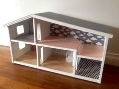 Ellie's Lundby dolls house renovation