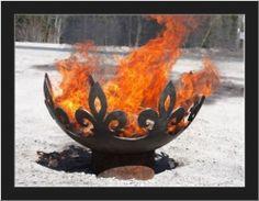 fleur-de-lis-artisan-fire-bowl