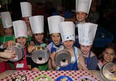 "Kid's ""Chopped"" themed birthday party. What a great idea!"