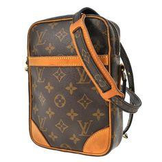 28f1d39c8c9f Louis Vuitton Danube Brown Monogram Cross Body Bag Monogram Canvas
