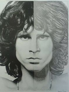 Jim Morrison, Had to draw the other half