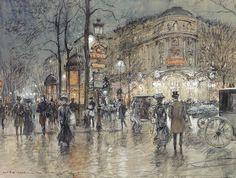 Georges Stein (1855-1930), Galerie Lafayette, Paris.