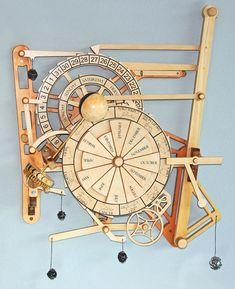 wood gear clock plans free