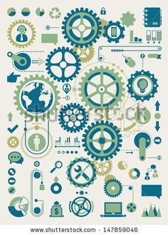 Clock Cogs and Gears | Clock Gears Drawing » VFXture.com