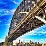 Sydney Harbour Bridge - Instacanvas - Instagram artist marketplace