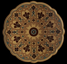 Luncheon Tray, Augustus Welby Northmore Pugin