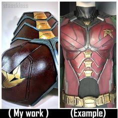 Nightwing Cosplay, Batman Cosplay, Cosplay Armor, Cosplay Diy, Best Cosplay, Cosplay Ideas, Dc Costumes, Batman Costumes, Comic Con Costumes