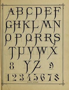 Monastic alphabet   https://ia700409.us.archive.org/BookReader/BookReaderImages.php?zip=/4/items/penmanshandbookf00gask/penmanshandbookf00gask_jp2.zip&file=penmanshandbookf00gask_jp2/penmanshandbookf00gask_0097.jp2&scale=4&rotate=0