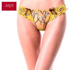 Трусы стринги женские из вышитой сетки ARDI купить на AliExpress