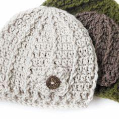 Crochet Hat Pattern ⋆ Rescued Paw Designs Crochet by Krista Cagle