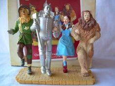 Hey, I have this! Amazon.com - Hallmark Keepsake the Wizard of Oz Off to See the Wizard 2005 Christmas Ornament $62.88