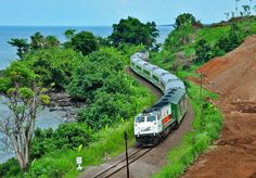 kereta api indonesia Kota Kinabalu, Transportation, Adventure, World, Vehicles, Modern, Photography, Painting, Kai