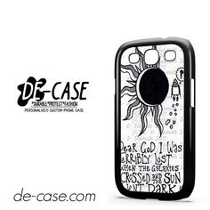 Owl City Lyrics DEAL-8355 Samsung Phonecase Cover For Samsung Galaxy S3 / S3 Mini