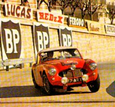 1962 Monte Carlo Rally: Timo Makinen's works Austin-Healey 3000 Monte Carlo Rally, Austin Healey, Competition, Period, It Works, Racing, Ads, Vehicles, Photos