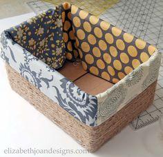 DIY Basket Liner Sides